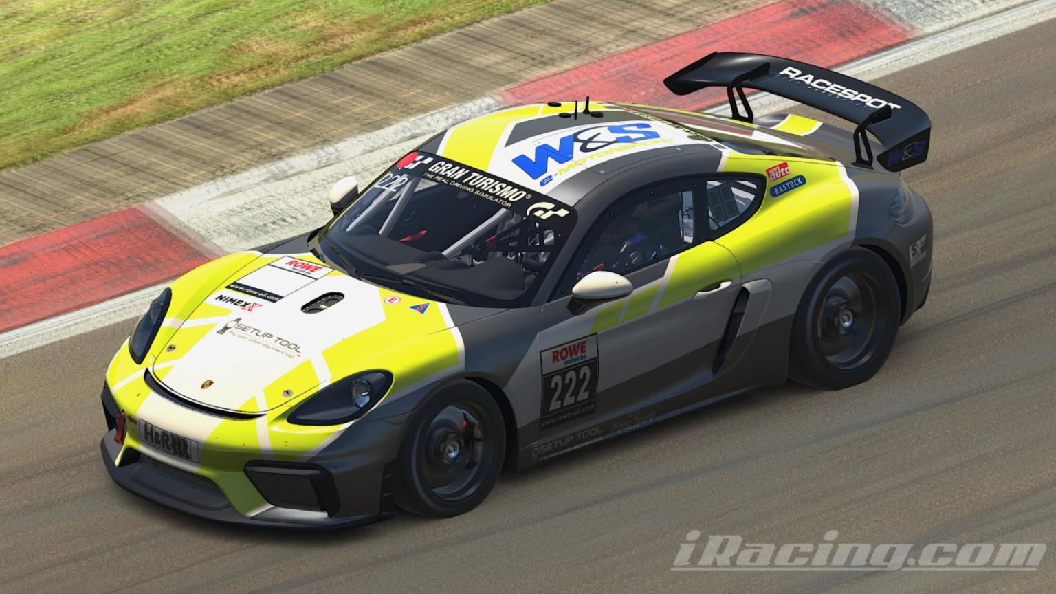 W&S Motorsport baut mit H2-Performance eine SimRacing Abteilung auf
