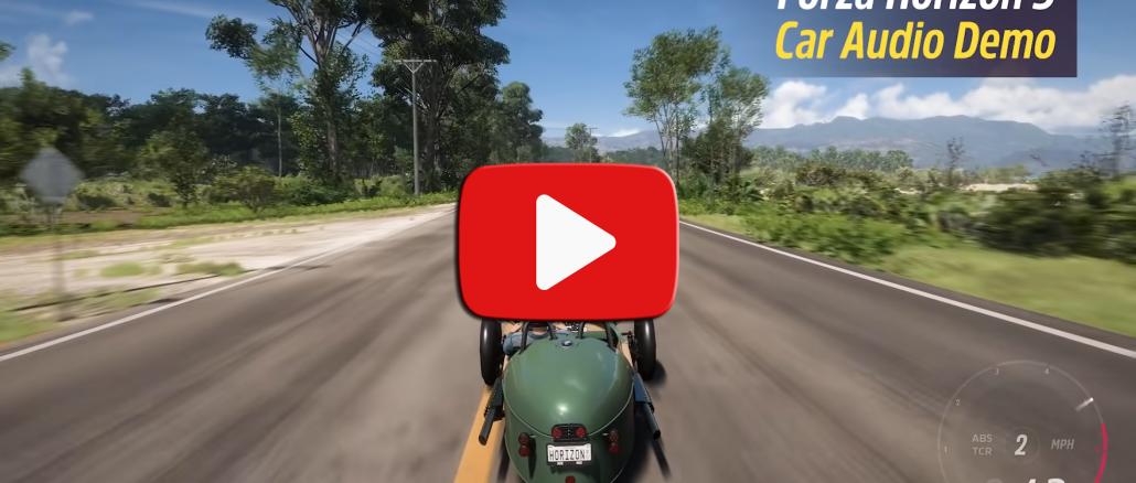 So ist der Ingame-Sound der Autos in Forza Horizon 5