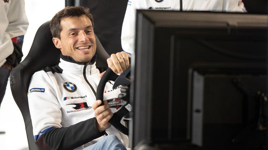 BWM-Werksfahrer Bruno Spenger entwickelte zusammen mit iRacing den BMW M4 GT3